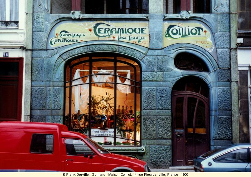 Where can i find art nouveau jugendstil buildings - Maison de l architecture lille ...