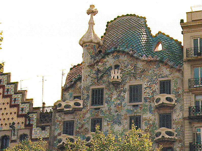 Antonio gaudi 1852 1926 for Architecture gaudi