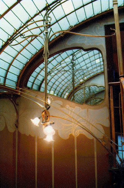 Victor horta 1861 1947 for Miroir art nouveau