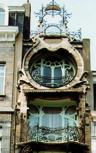 Visiting bruxelles art nouveau - Art nouveau architecture de barcelone revisitee ...