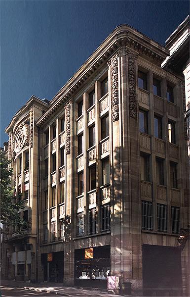 Art nouveau strasbourg 41 45 rue des grandes arcades for Rue du miroir strasbourg