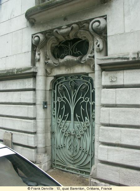 Where can i find art nouveau jugendstil buildings art nouveau door in orlans sciox Images