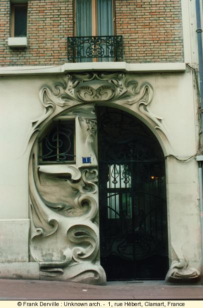 where can i find art nouveau jugendstil buildings