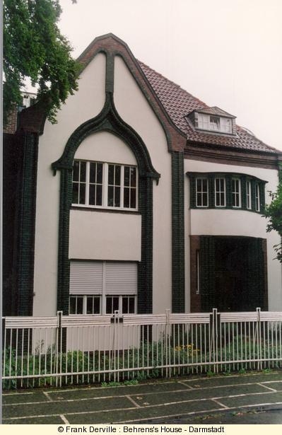 Visit darmstadt art nouveau for Behrens house
